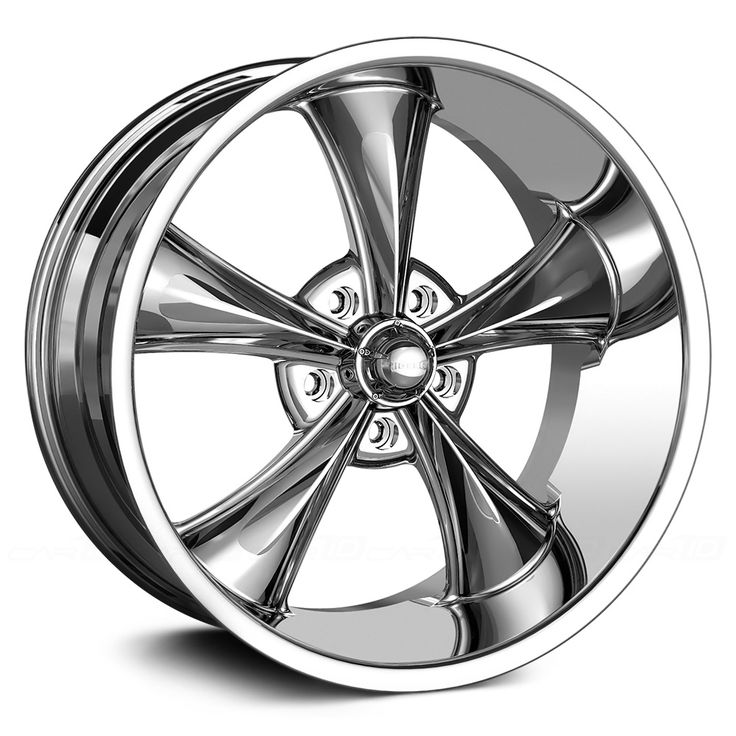 Ridler 695 Chrome Wheels Find the Classic Rims of Your Dreams - www.allcarwheels.com