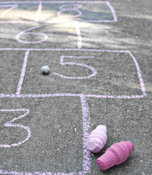 Make your own Sidewalk Chalk. The key to crafting your own chalk: