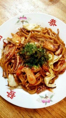 イカ・キムチ焼きそば by KUNKUN1978 【クックパッド】 簡単おいしいみんなのレシピが277万品
