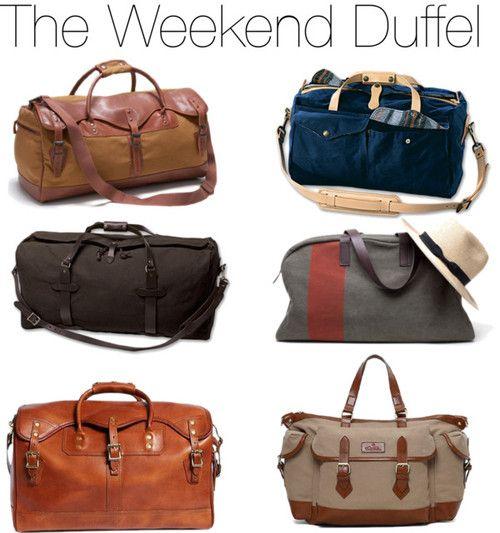 The weekend duffel