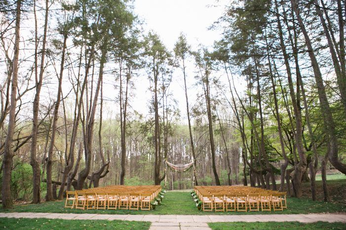 Outdoor Ceremony Venue Rustic Bohemian Ideas From Nature Inspired Wedding At Woodend Sanctuary Maryland