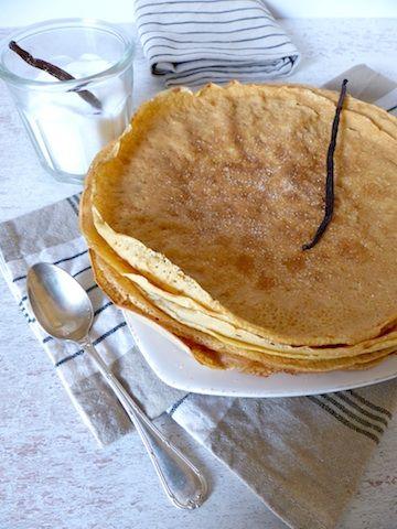 Comment obtenir des crêpes sans gluten avec une consistance agréable et un délicieux parfum ? En mêlant la farine de maïs à la farine de riz, on obtient une savoureuse pâte à crêpes pour des des goûters 100% convivialité.