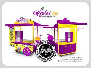 Desain Logo | Logo Kuliner |  Desain Gerobak | Jasa Desain dan Produksi Gerobak | Branding: Desain Gerobak Kedai 252