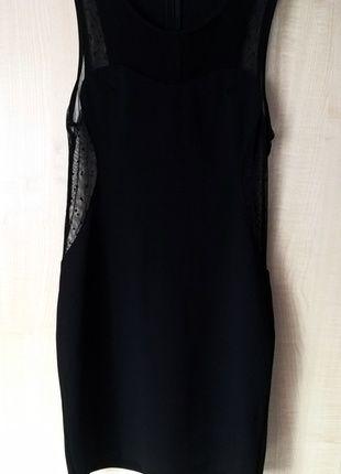 Kup mój przedmiot na #vintedpl http://www.vinted.pl/damska-odziez/krotkie-sukienki/14759946-czarna-sukienka-mini-z-wstawkami-z-czarnej-siateczki