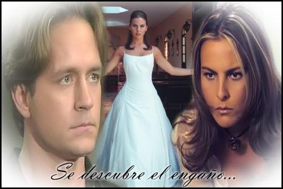 La Mentira - 1998: Kate Del Castillo como Verónica y Guy Ecker  como Demétrio.