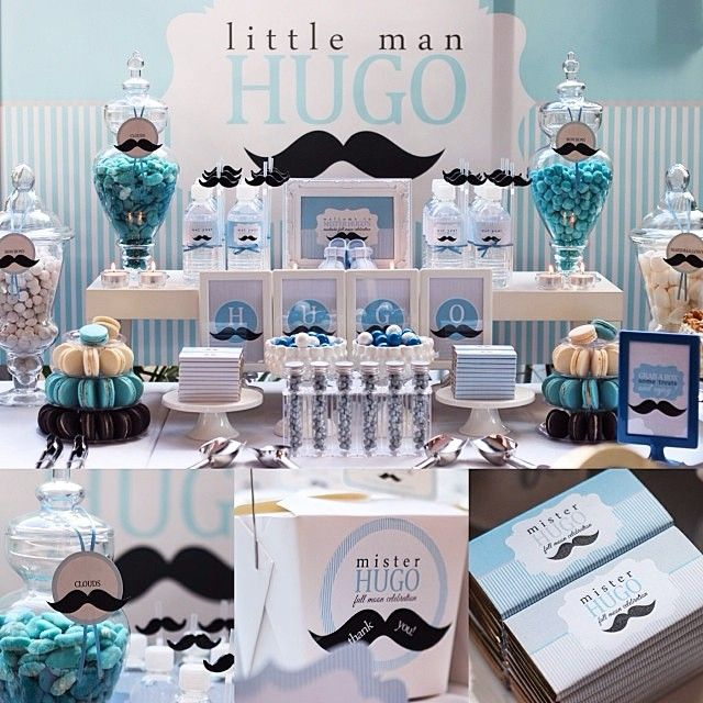 Sweeteventstyling Little Man Candy Dessert Tables