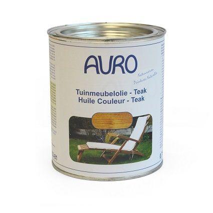 Tuinmeubel-olie, type teak. Voedt het hout, zodat het soepel blijft en conserveert. Ideaal voor oude tuinmeubels. Te gebruiken na behandeling met tuinmeubelreiniger.