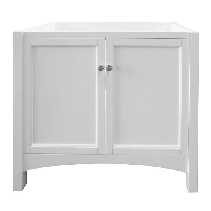 Foremost Trwa3622 Haven 36 Vanity Cabinet Only In White