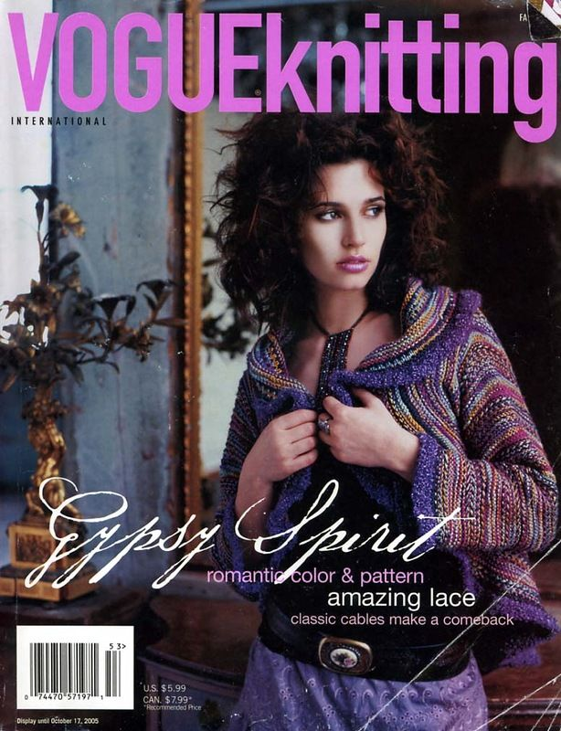 October 2005 | Vogue Knitting
