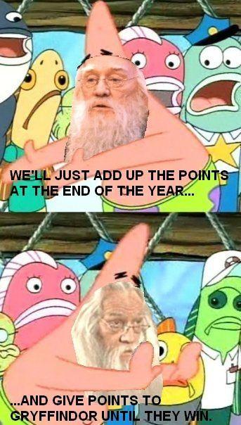 Dumbledore logic.