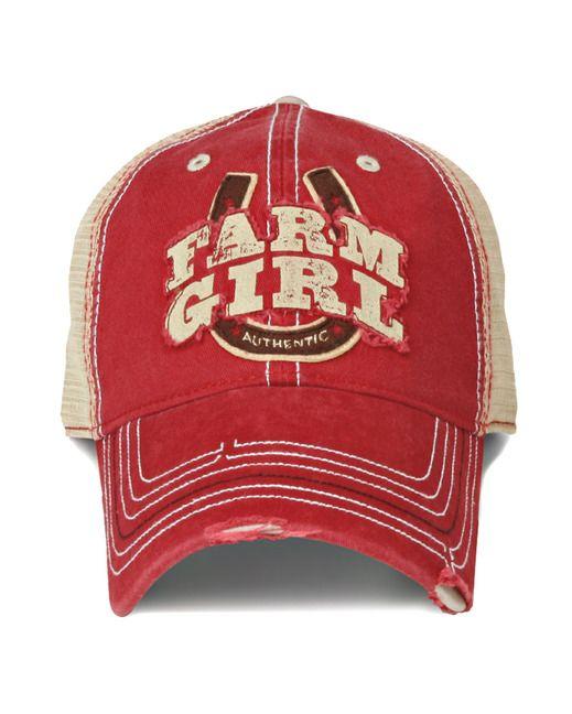 Farm Boy & Farm Girl Women's Farm Girl Horseshoe 2 Mesh Cap http://www.countryoutfitter.com/products/55793-womens-farm-girl-horseshoe-2-mesh-cap?lhs=u_p_p_n_a&lhb=MP&lhc=womens_apparel&lhg=farm_boy_and_farm_girl&utm_source=pinterest&utm_medium=social