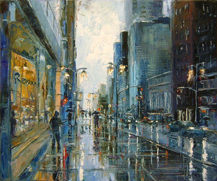'Renoir Rain' by DusanMalobabic.deviantart.com on @deviantART