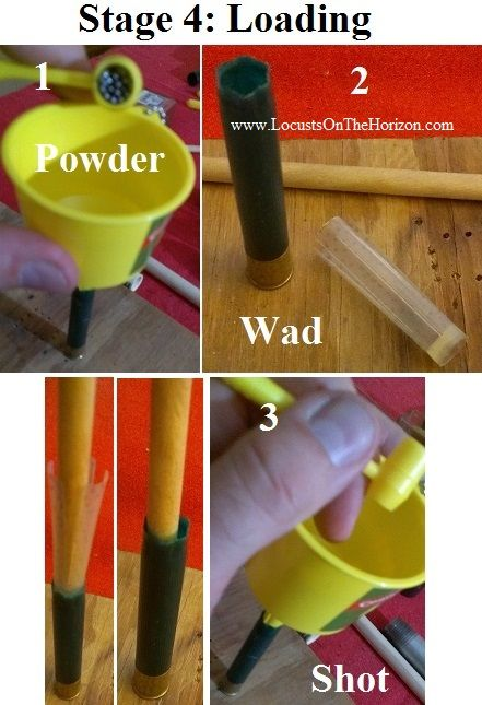 Homemade .410 Reloading Kit By Plan B Writer's Alliance – http://www.LocustsOnTheHorizon.com (This article isadapted from the book 'Locusts on the Horizon' from the chapter titled 'Homemade Reloading Kits'. Step by Step instructional photos at the...