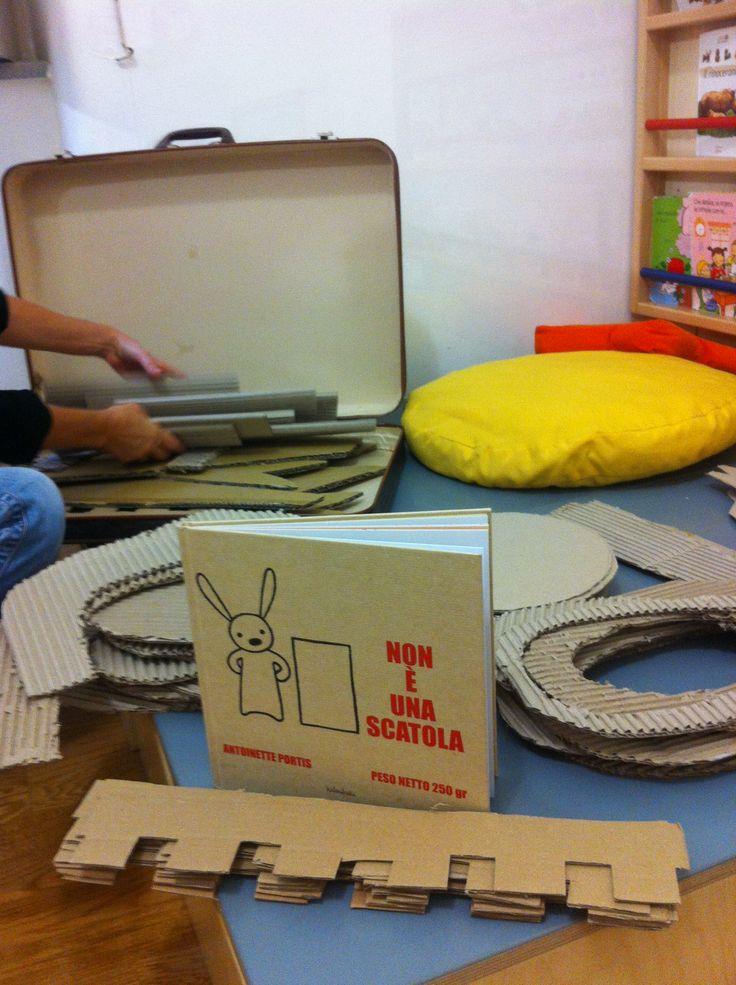 """Leggere """"Non è una scatola"""", di Antoinette Portis, Kalandraka editore + attività"""
