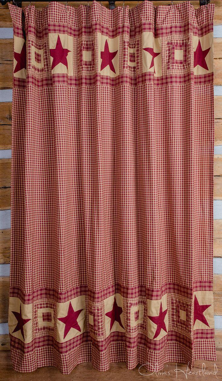 Best Ideas About Plaid Shower Curtain On Pinterest Rustic - Burgundy shower curtain sets