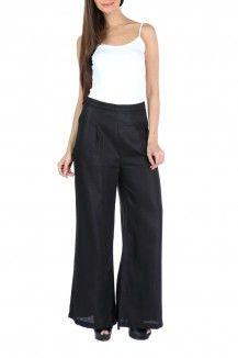 Linen Wide Leg Pants  Rs. 3,490