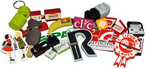 MEMORIAS USB personalizadas con logo para empresas