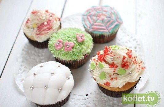 Jak dekorować cupcake