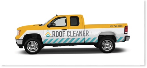 Roof Cleaner Truck wrap