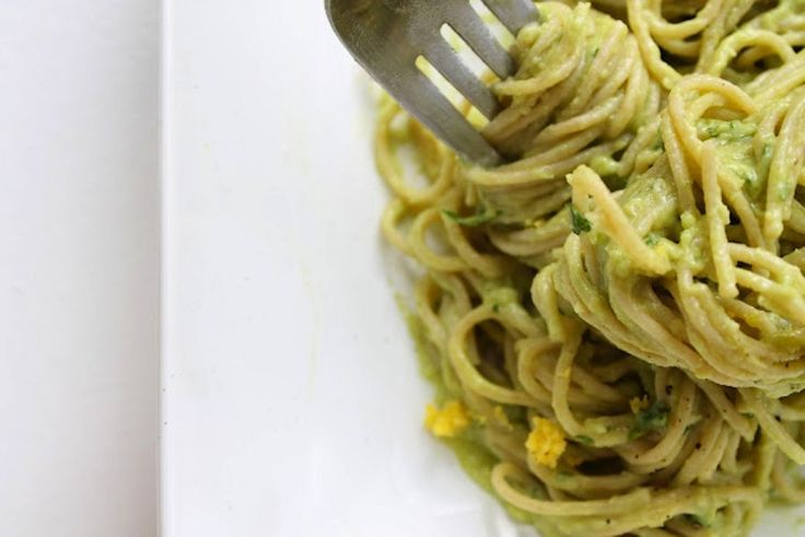 If you like avocados, you'll LOVE this!!: Avocado Cream Pasta Sauce.