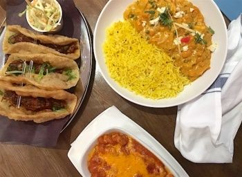 """he Gist:Pukka Restaurantowners Harsh Chawla and Derek Valleau have  witnessed a """"huge change, huge shift in the last three years"""" Chawla says,  of the demographics in the St. Clair West neighbourhood.   To cater to the crowd, they have created Ji, serving up fun Indian  gastropub-s"""