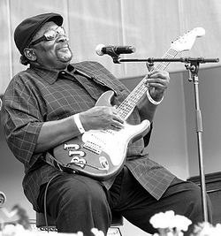 """Big Jack Johnson (July 30, 1940 – March 14, 2011) was a delta electric blues musician.  One commentator noted that Johnson, along with R. L. Burnside, Paul """"Wine"""" Jones, Roosevelt """"Booba"""" Barnes and James """"Super Chikan"""" Johnson, were """"present-day exponents of an edgier, electrified version of the raw, uncut Delta blues sound."""""""