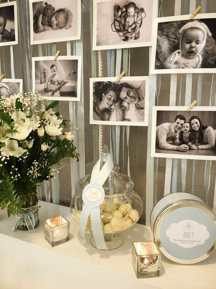 Shabby Chic Baptism Party Ideas | Photo 5 of 15 | Catch My Party