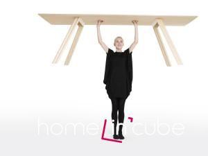 Nejlehčí dřevěný stůl.