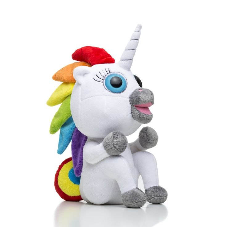 Dookie The Pooping Unicorn Plush Toy | Squatty Potty®.... Comes with rainbow poop.