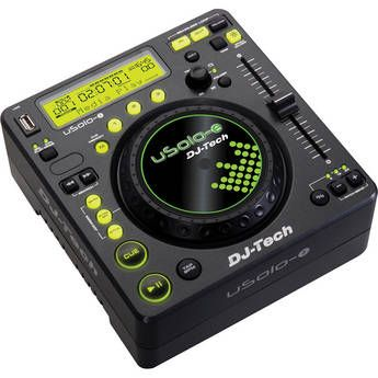 DJ-Tech U Solo-E Compact USB Player and Controller