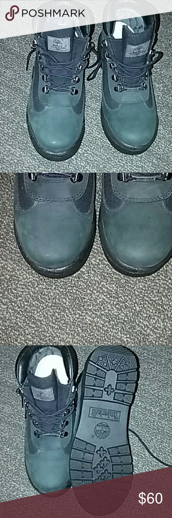 Timberland Gore-Tex boots men size 7M Hunter green and black Gore-Tex by Timberland. It's that time of year! Keep your feet warm while stomping in style! Timberland Shoes Boots