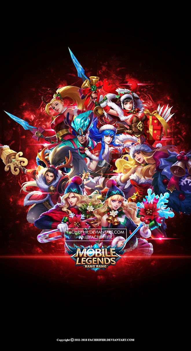 Wallpaper Phone Mobile Legend Christmas Carnival By FachriFHR