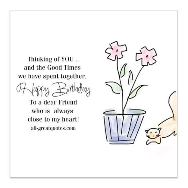 The 25 Best Happy Birthday Dear Friend Ideas On Pinterest
