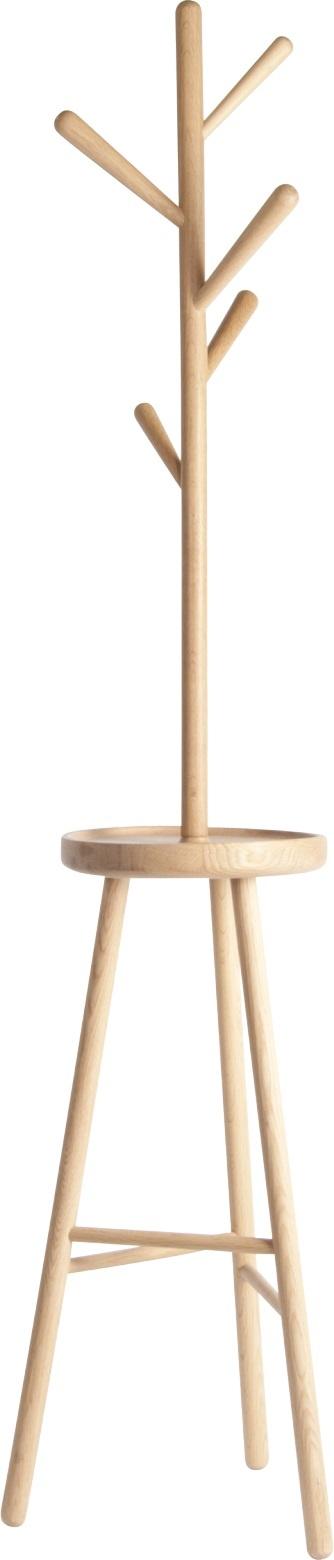 Twiggy stumtjener i oljet, solid eik. Designet av Naoko Kanehira eksklusivt for Habitat. Dimensjoner: B45 x H170 cm. Kr. 1810,-