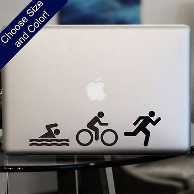 #Triathlon decal #-ironman #sticker for car or laptop,  View more on the LINK: http://www.zeppy.io/product/gb/2/141432947399/