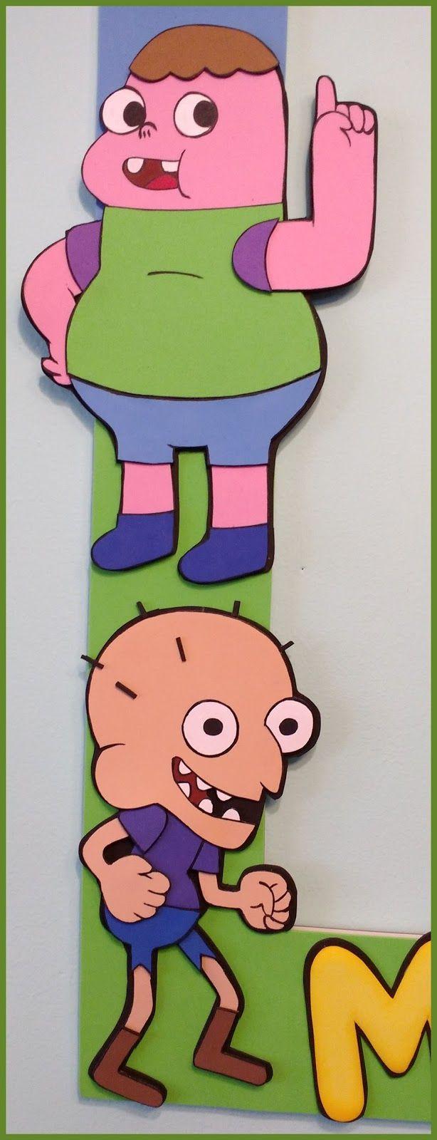Marco selfie de clarence, para un fanático de estos dibujos animados :D todo hecho en goma eva :)