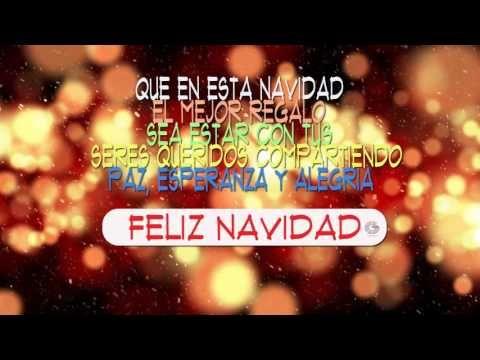 Feliz Navidad Mensaje Animado para Navidad y Año Nuevo
