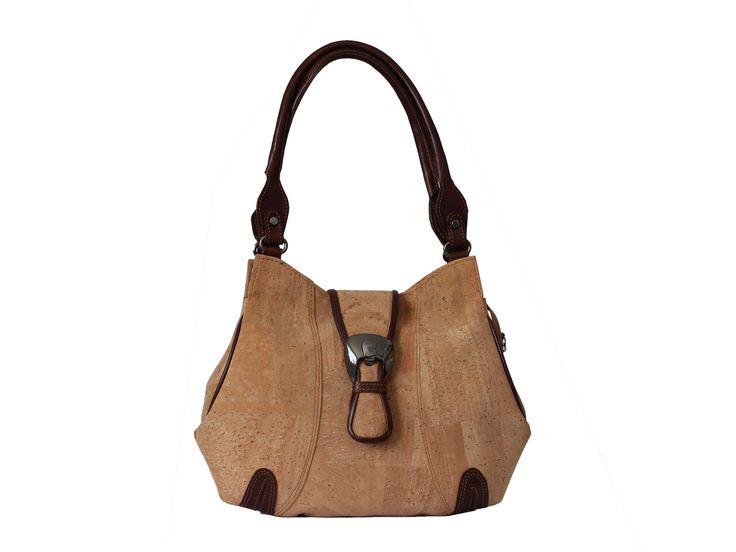 Handbag Vanda | Two compartments | Zip-top closure | Magnetic snap