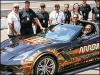 The state of Nevada last week issued paralyzed former Indy driver Sam Schmidt a license to drive a specially made autonomous vehicle equipped with a series of high-tech sensors and other equipment that will allow him to operate it with head motions voice commands and breathing techniques. The license allows Schmidt to operate the Arrow SAM car a modified Corvette Z06 developed by Arrow Electronics alongside regular passenger traffic -- an important development in the history of the…