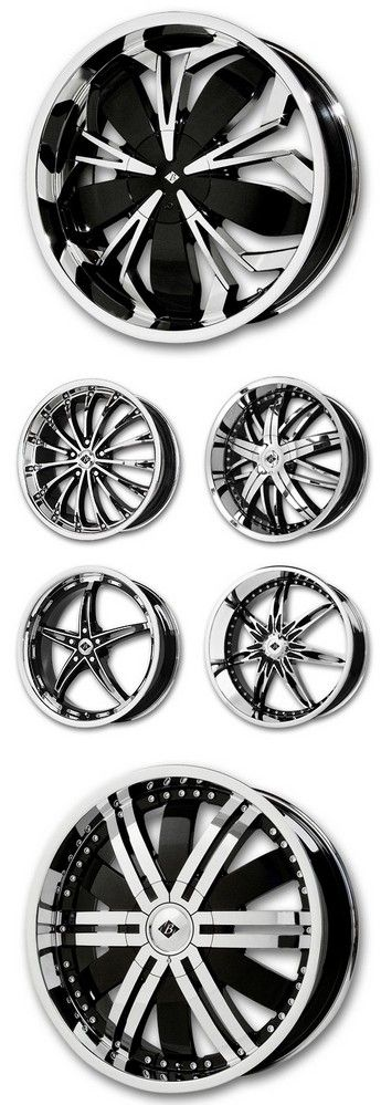Black Ice Wheels, available at Discounted Wheel Warehouse