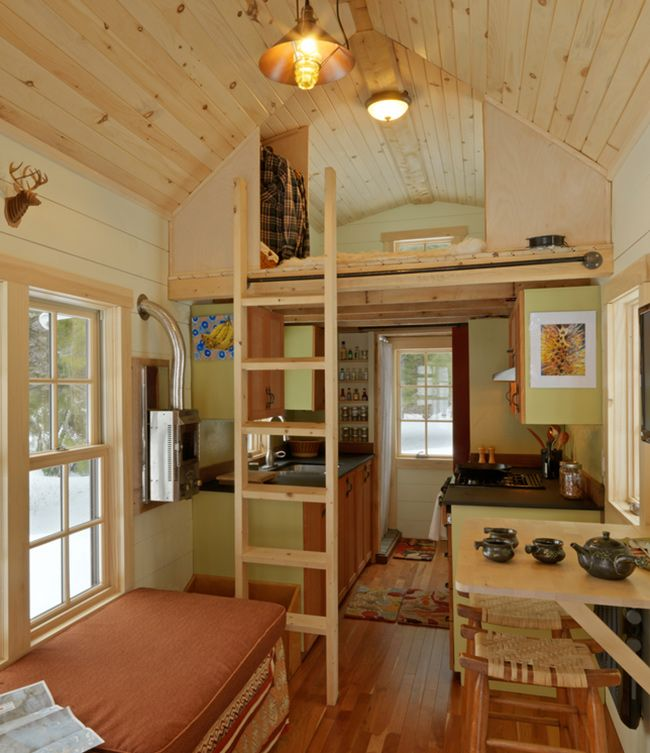 Small Home Design Ideas Com: Best 25+ Tiny House Interiors Ideas On Pinterest