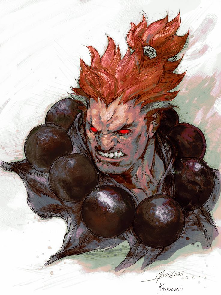 Alvin's Akuma by ~Kandoken on deviantART