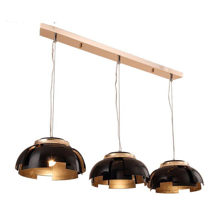 3 Lights <b>Nordic</b> Black / Gold Northern Europe <b>Modern</b> Creative Iron ...