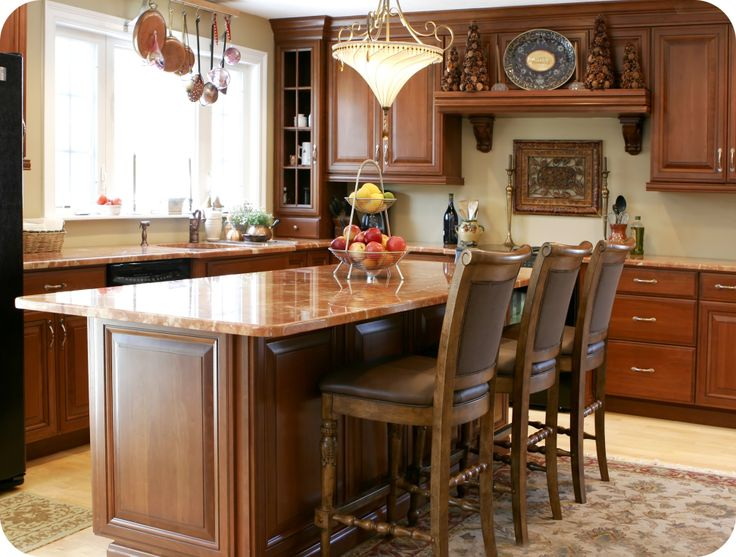 Double Quarter Round edge can add personality to your kitchen. View ...