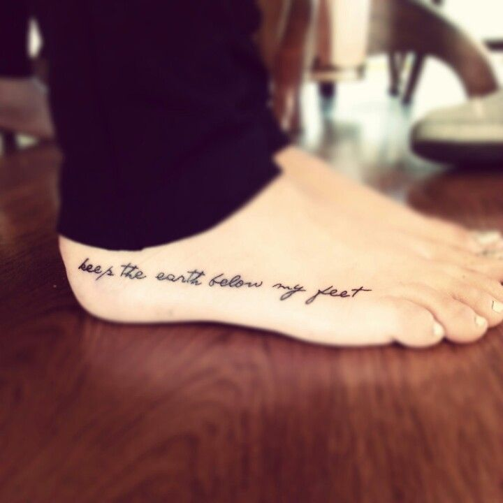 my freshhhh mumford and sons foot tattoo ink