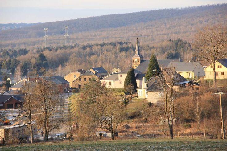 Ce joli village au cœur du parc des Ardennes au cœur de mon cœur.