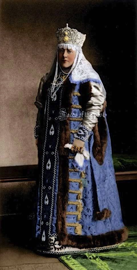 Countess Sheremeteva at the Winter Palace Costume Ball of 1903.