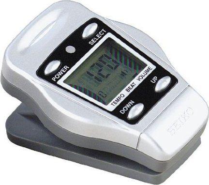 Metrónomo digital de clip Seiko DM50S Color Plateado http://guatemaladigital.com/Producto.aspx?Codigo=9370
