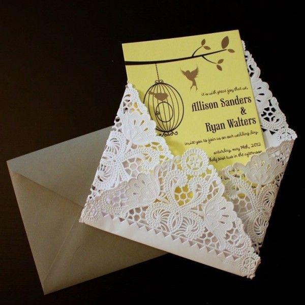 Idee per partecipazioni matrimonio fai da te (Foto)   Nanopress