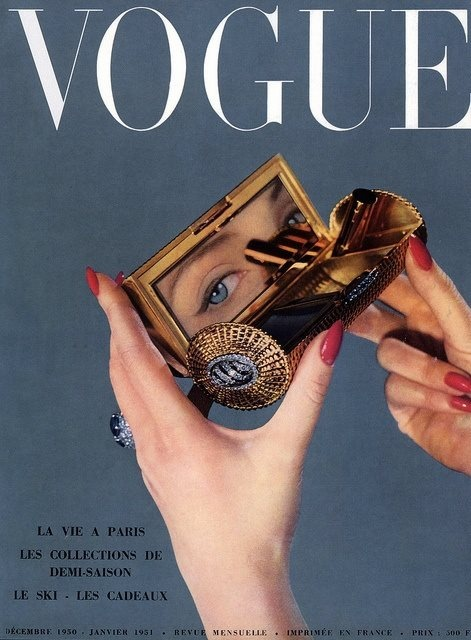 French Vogue, December 1950/January 1951.  Photo: Arik Nepo.